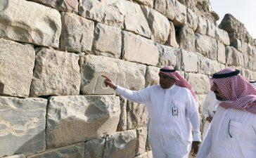 نجران: زيارة وزير التعليم للأخدود الأثري