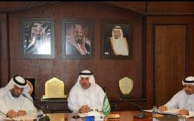 الوهيبي يجتمع بقادة إدارة الرياض لبحث استعدادات العام الدراسي الجديد
