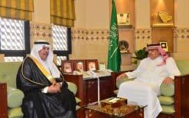 وكيل إمارة الرياض يستقبل مدير تعليم المنطقة
