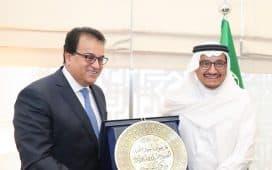 آل الشيخ يبحث مع وزير التعليم المصري سبل التعاون بين البلدين
