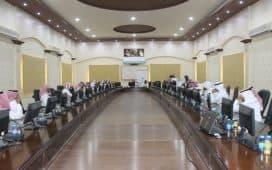 مدير التعليم بمحافظة المذنب يدشن بوابة المستقبل