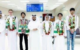 إدارة مكة تحصد ميداليات فضية وذهبية بأولمبياد الرياضيات والفيزياء الخليجي بمسقط