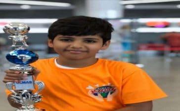 الطالب فايز الحسناني يضيف لرصيد المملكة إنجاز عالمي جديد