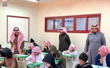 تعليم عسير تنظم عدد من الزيارات الميدانية للوقوف على سير الاختبارات