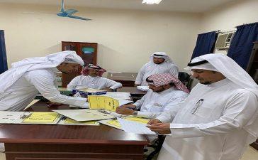 مدير التعليم المستمر في مكة يقف على سير الامتحانات في الليلية الخامسة