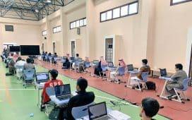 مواصلة الأولمبياد الوطني للمعلوماتية فعالياته بإدارة تعليم النماص