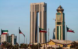 تقع دولة الكويت بالنسبة للخليج العربي في جهة