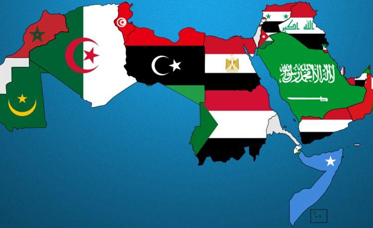 تمثل مساحة العالم العربي والإسلامي بالنسبة إلى مساحة العالم