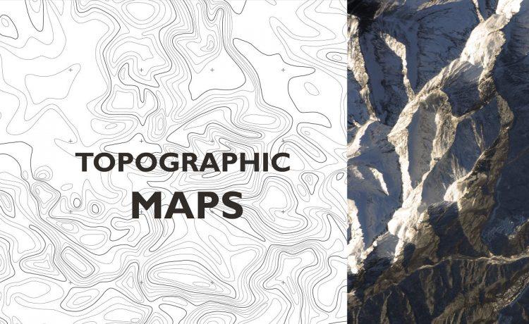 الخرائط الطبوغرافيه مهمه لانها تمثل